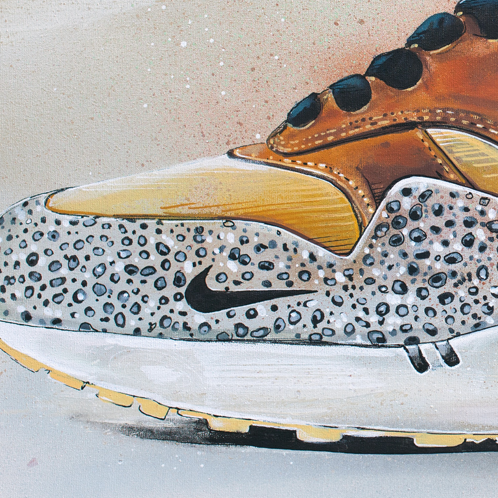 Poster Nike Air Max One by Jos Hoppenbrouwers