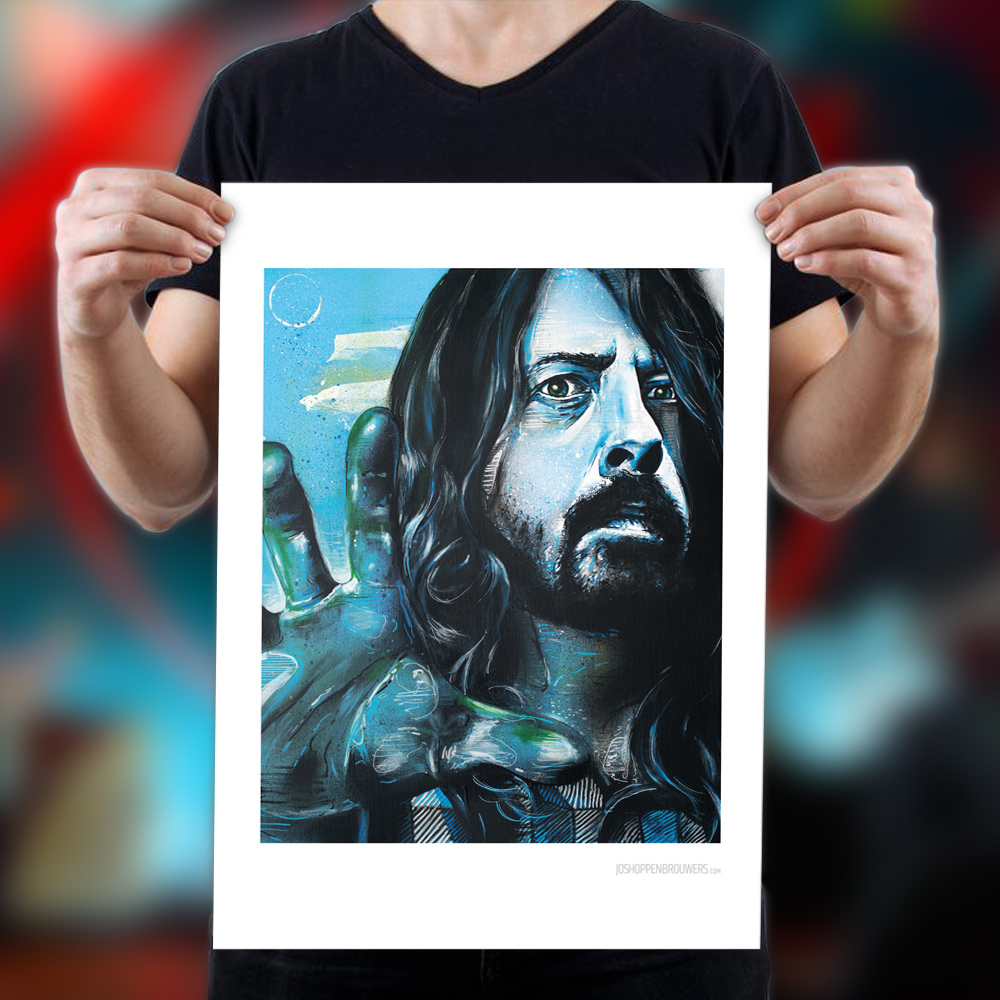 FooFightersPoster