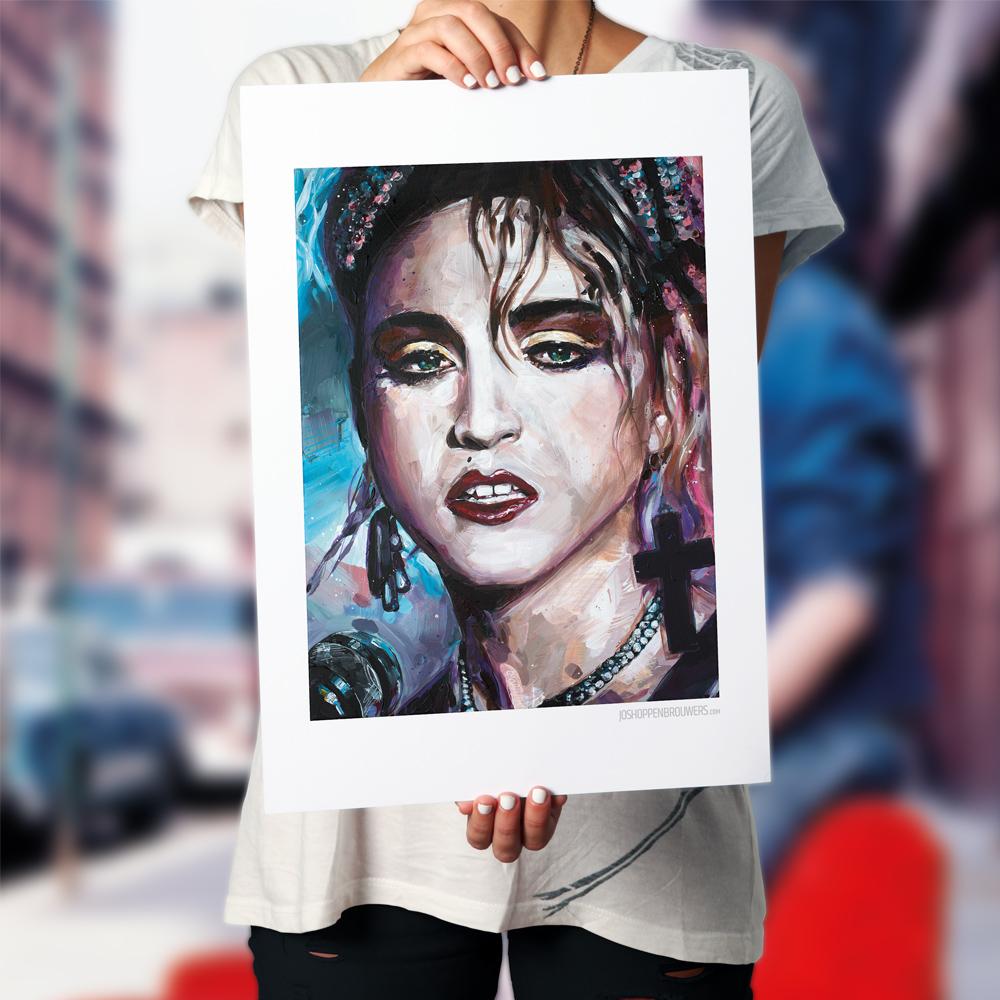 Madonna Madonnaprint Madonnaposter Madonnapainting Madonnaart Madonnacanvas Madonnapaint Madonnaschilderij art print