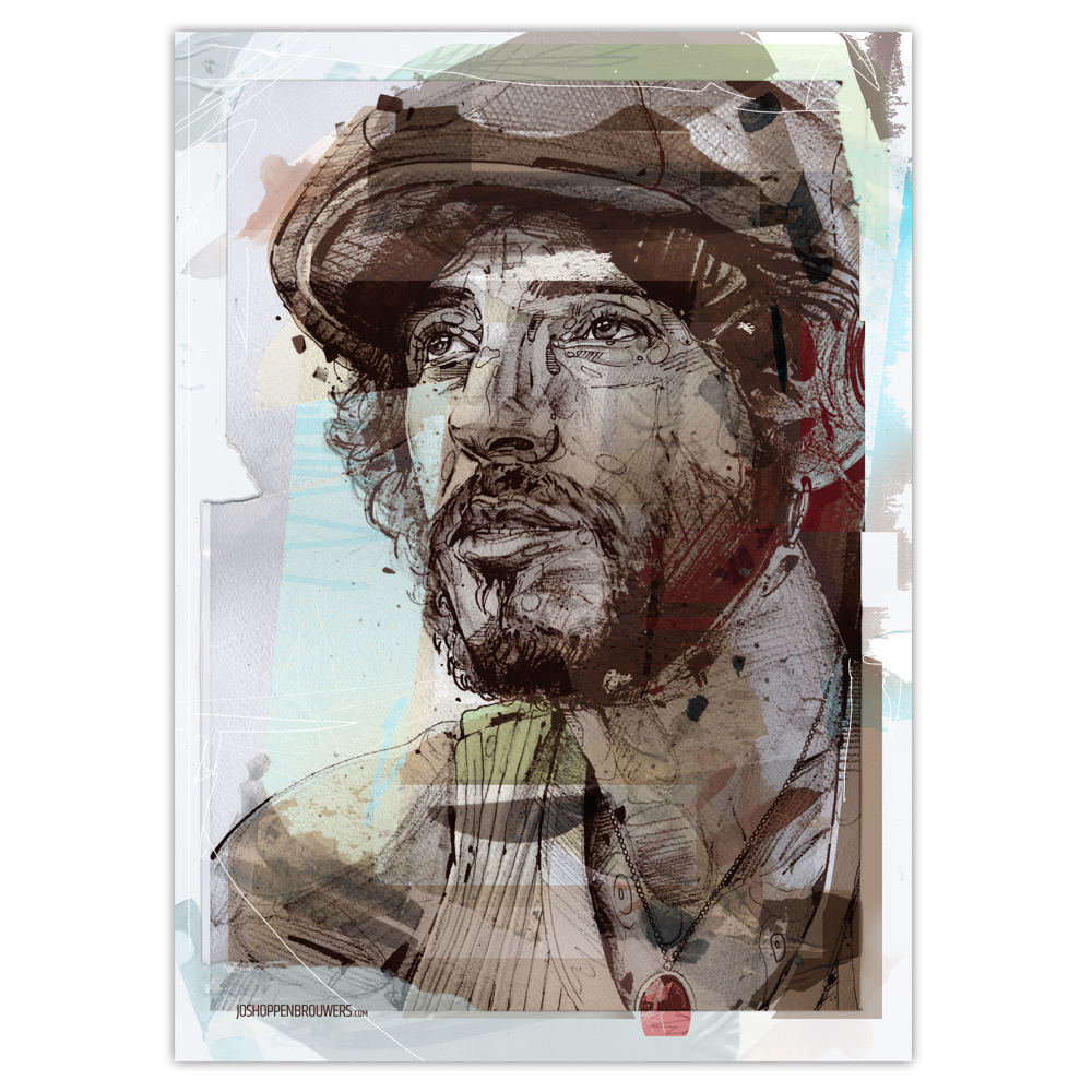 Bruce Springsteen Print Bruce Springsteen poster Bruce Springsteen art Bruce Springsteen canvas Bruce Springsteen posters Bruce Springsteen painting the boss art the boss painting the boss print