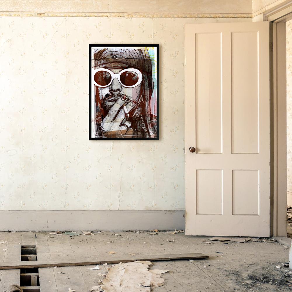 Nirvana Nirvanaprint Nirvanaposter Nirvanacanvas Nirvanaposters posterNirvana printNirvana Kurt Cobain KurtCobain KurtCobainposter KurtCobainpring KurtCobainart printKurtCobain posterKurtCobain