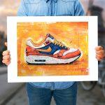 Nike air max 1 x Parra Albert Heijn poster (70x50cm)