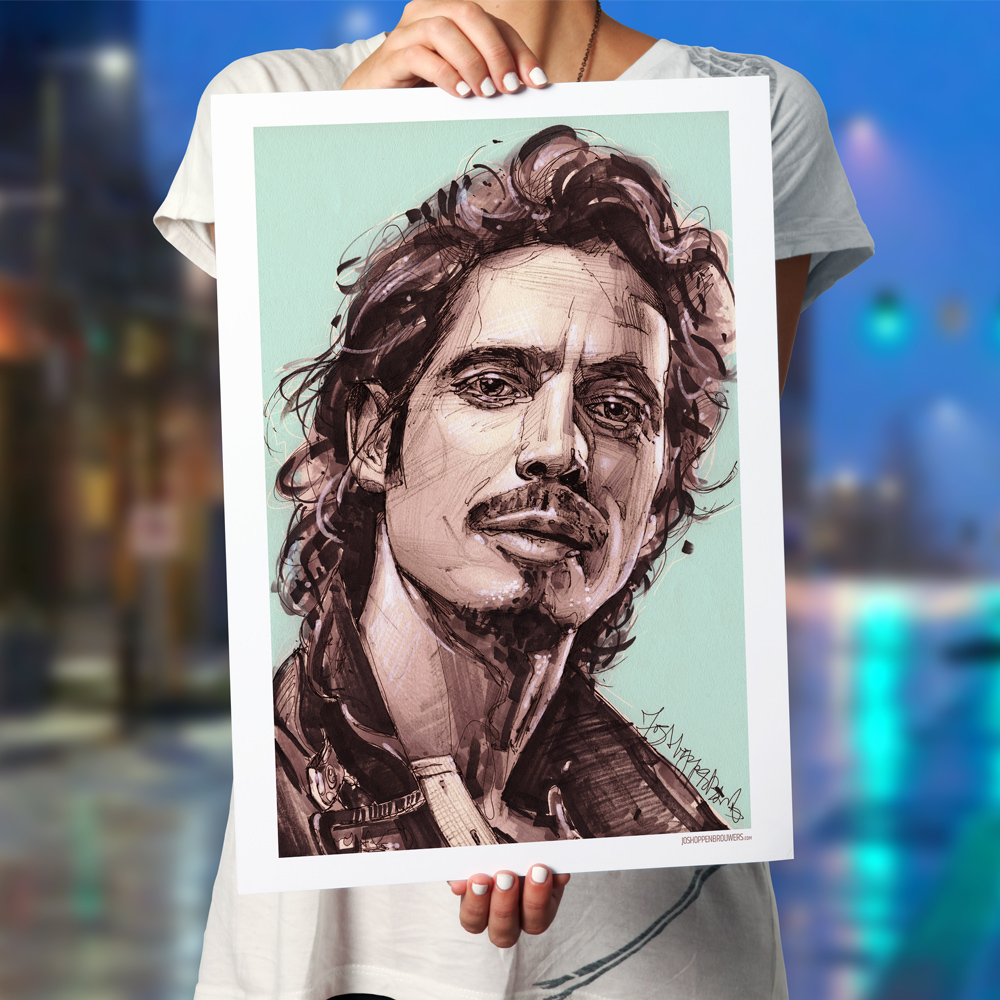 Chris Cornell ChrisCornell ChrisCornellprint ChrisCornellposter ChrisCornellart ChrisCornellpainting audioslave audioslaveprint audioslaveposter audioslaveart audioslavemusic soundgarden soundgardenart soundgardenpainting soundgardenprint soundgardencanvas art painting art print
