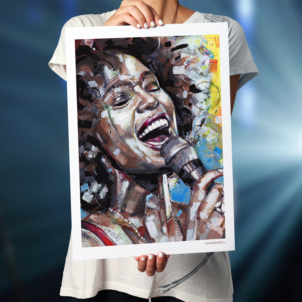 Print Whitney Houston poster art kunst whitneyhouston whitneyhouston print artprint painting