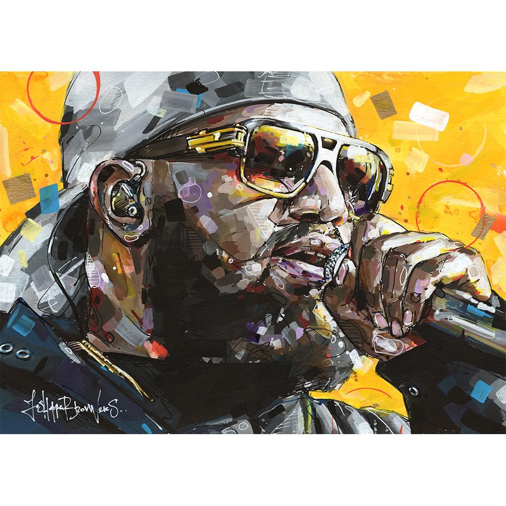 willie wartaal williewartaal williewartaalkunst de jeugd van tegenwoordig artprint hiphop hiphopart olivier locadia schilderij kunst print painting jeugdvantegenwoordig dejeug de jeugdvantegenwoordig
