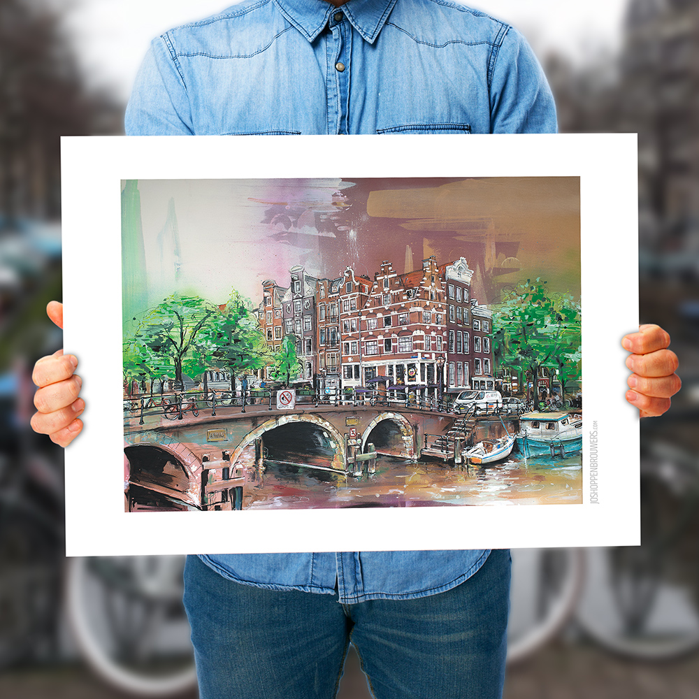 city cityart citypainting cityposter streetart urban urbanart cities world citycanvas arte instagram paintingcity printcity Amsterdam Netherlands art print poster canvas plakat