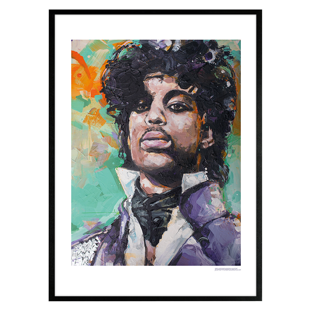 Prince poster print art painting canvas cartel art print affiche plakat Prince Roger Nelson Princeposter Princeprint Princeplakat Princecanvas Princepainting Princecartel Princeaffiche purple rain prints posters paintings