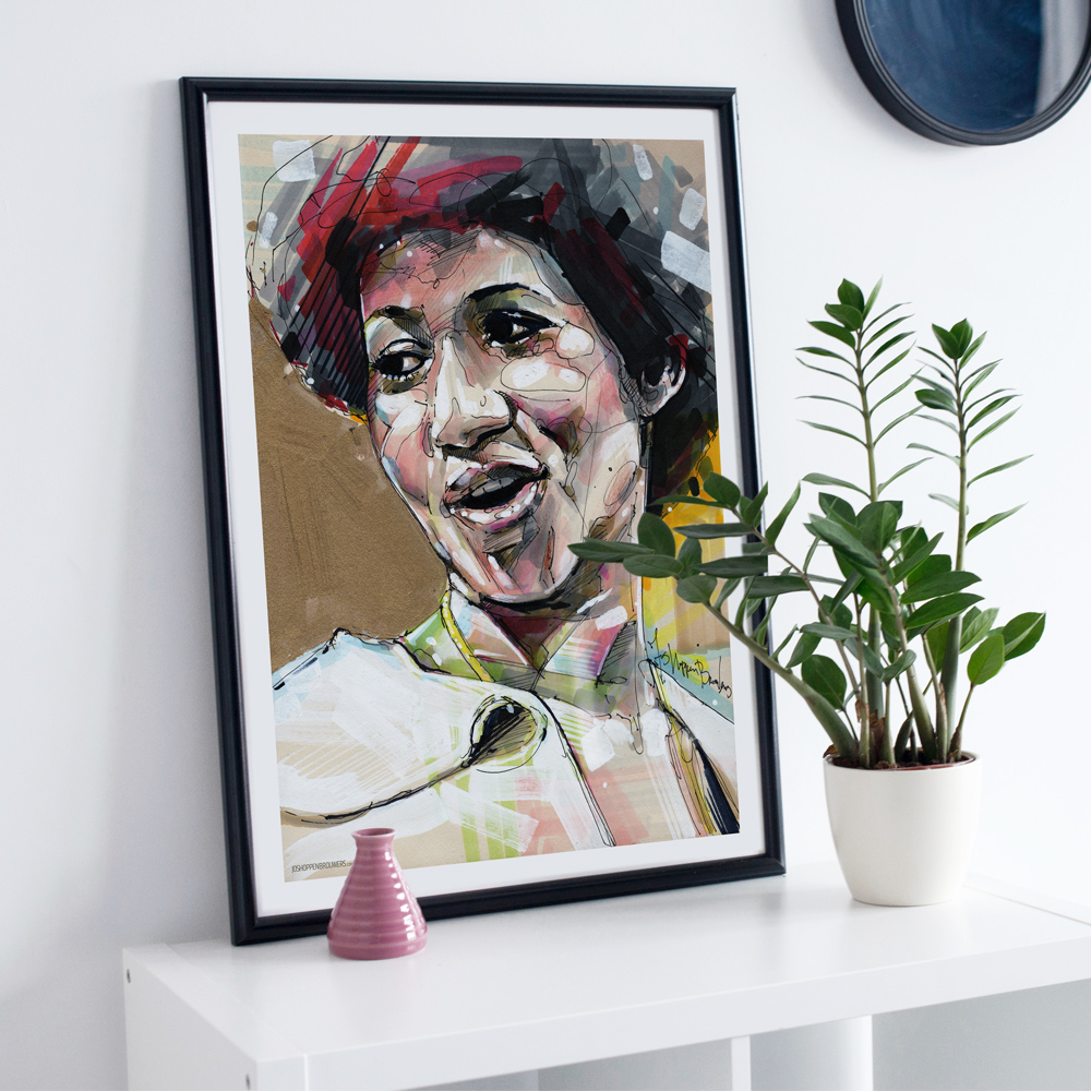 Aretha Franklin ArethaFranklin ArethaFranklinprint ArethaFranklinart ArethaFranklinposter ArethaFranklinaffiche ArethaFranklinplakta ArethaFranklinpainting ArethaFranklincartel Arethaprint Arethaposter Arethaart Arethapainting Arethaaffiche Arethaportrait respect
