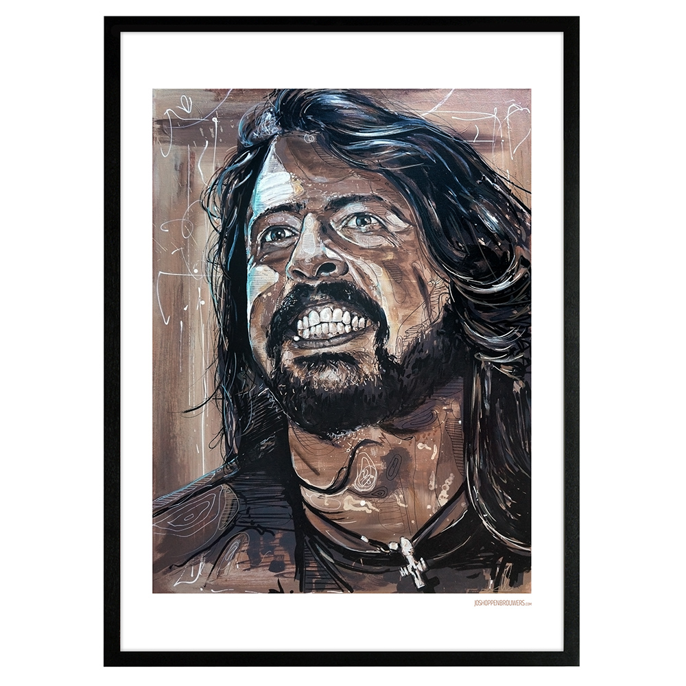 Dave Grohl Foo Fighters Foofighters DaveGrohlprint DaveGrohlposter DaveGrohlart DaveGrohlpainting DaveGrohlcanvas Foofightersposter Foofightersprint Foofightersart Foofightersschilderij Foofighterspainting posterFoofighters printFoofighters