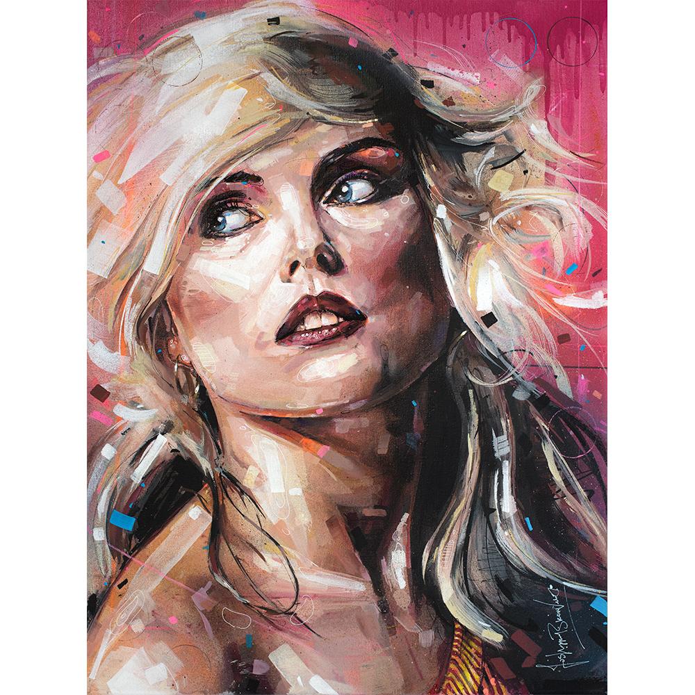 Debbie Harry Deborah Harry Blondie painting art plakat canvas affiche music fanart