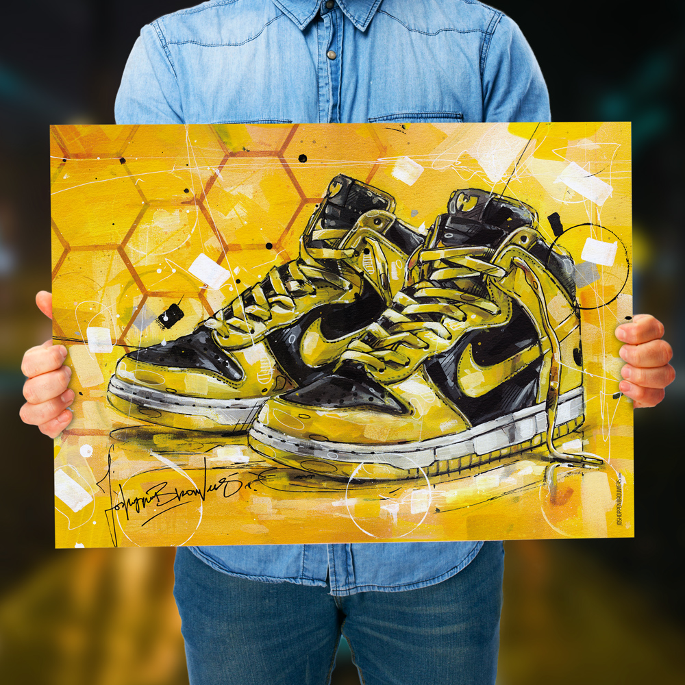 Wu tang Wutang Wutang clan WutangClan Poster print cartel canvas prints posters painting paintings sneakers arte kunst artworks HipHop rapper rap Hip Hop ganstarap Wu-Tang x Dunk High LE GZA (Genius) Ghostface Killah Raekwon U-God Masta Killa Inspectah Deck Method Man Cappadonna O'l Dirty Bastard.